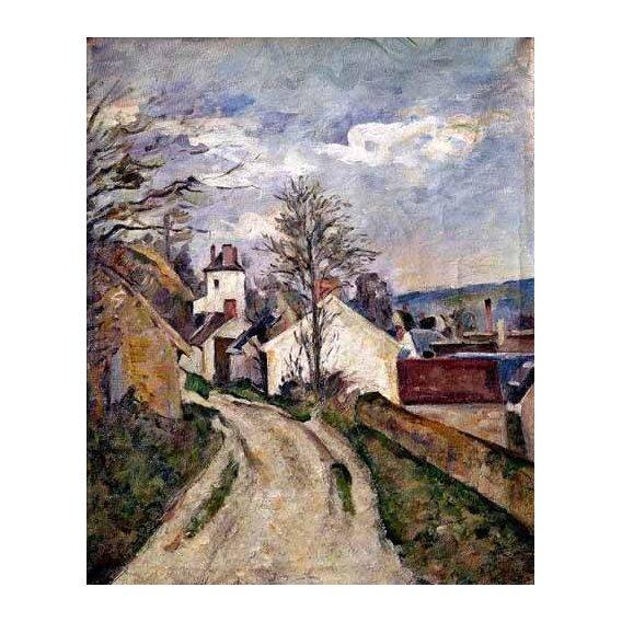 cuadros de paisajes - Cuadro -La casa del doctor Gachet en Auvers-