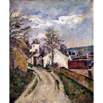 Cuadro -La casa del doctor Gachet en Auvers-
