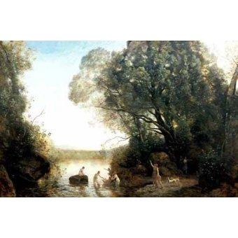 - Cuadro -Pastoril- - Corot, J. B. Camille