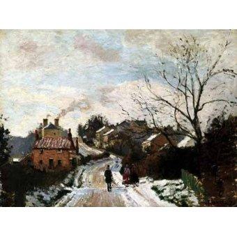 - Cuadro -Lower Norwood bajo la nieve- - Pissarro, Camille