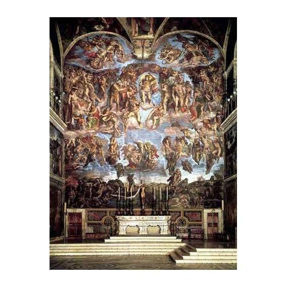cuadros religiosos - Cuadro -Retablo: Juicio final-