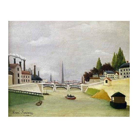 cuadros de paisajes - Cuadro -Pont de Paris-