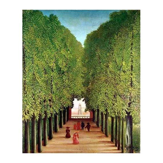 cuadros de paisajes - Cuadro -Avenida del parque Saint Cloud-