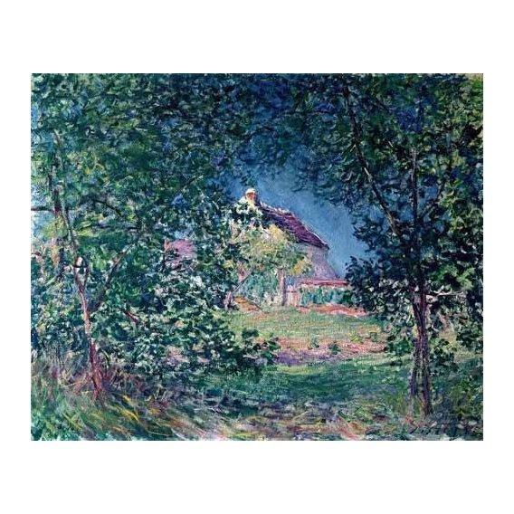 cuadros de paisajes - Cuadro -Lindero del bosque en la primavera-