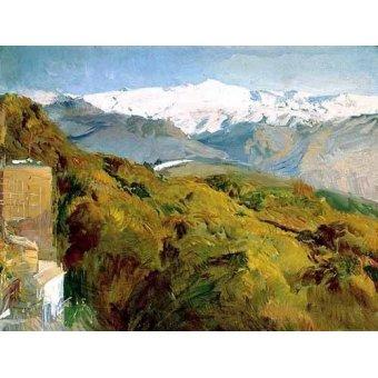 - Cuadro -Vista de Sierra Nevada- - Sorolla, Joaquin