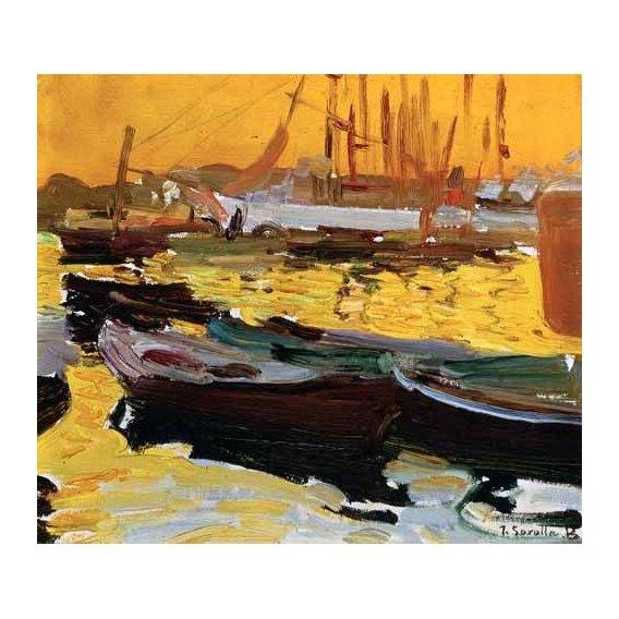 cuadros de marinas - Cuadro -Puerto de Valencia-