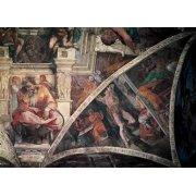 Cuadro -Bóveda: El Castigo de Amán, el Profeta Jeremias-