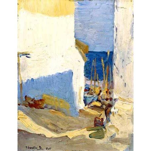 cuadros de paisajes - Cuadro -Boceto valenciano II-