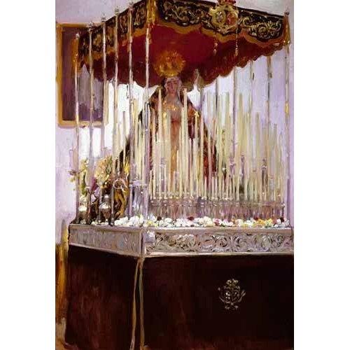 Cuadro -La Virgen de los Reyes-
