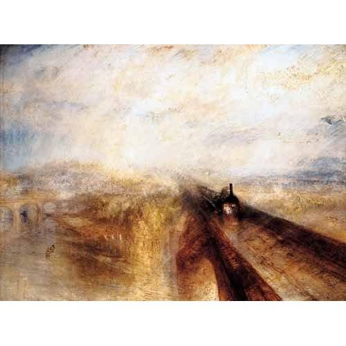 cuadros de paisajes - Cuadro -Lluvia , vapor y velocidad-