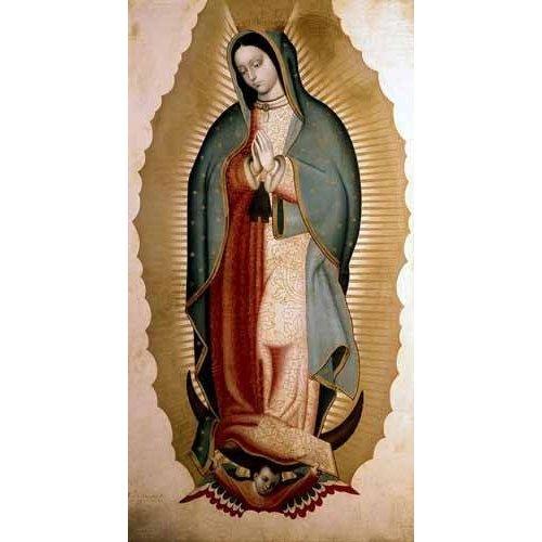 cuadros religiosos - Cuadro -La Virgen de Guadalupe-