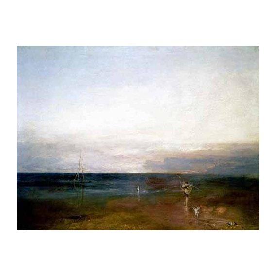 cuadros de paisajes - Cuadro -La estrella vespertina-