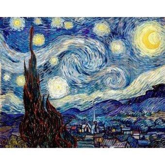 Pasillo - Cuadro -La noche estrellada- - Van Gogh, Vincent