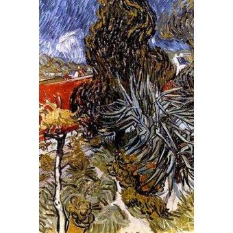- Cuadro -El jardín del doctor Gachet en Auvers-sur-Oise- - Van Gogh, Vincent