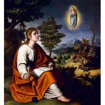 - Cuadro -Visión de San Juan Evangelista- - Cotan, Juan Sanchez