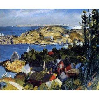 cuadros de marinas - Cuadro -Matinicus from Mr. Ararat- - Bellows, George