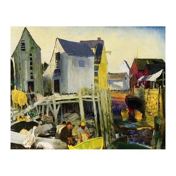 cuadros de paisajes - Cuadro -Matinicus-