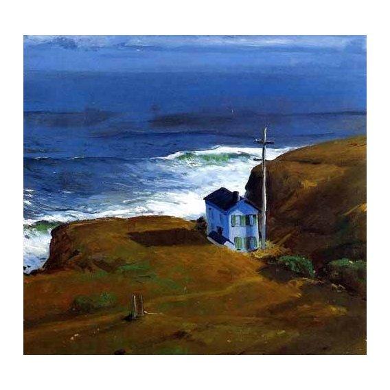 cuadros de marinas - Cuadro -Shore House-