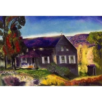 - Cuadro -Black House- - Bellows, George