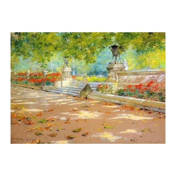 cuadros de paisajes - Cuadro -Merritt Terrace Prospect Park-