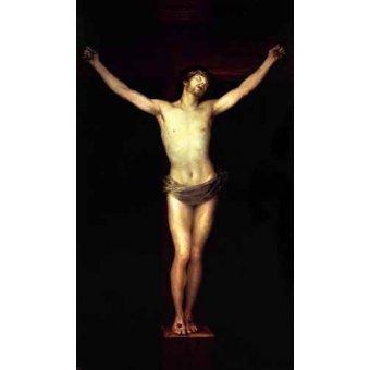 - Cuadro -Cristo crucificado- - Goya y Lucientes, Francisco de