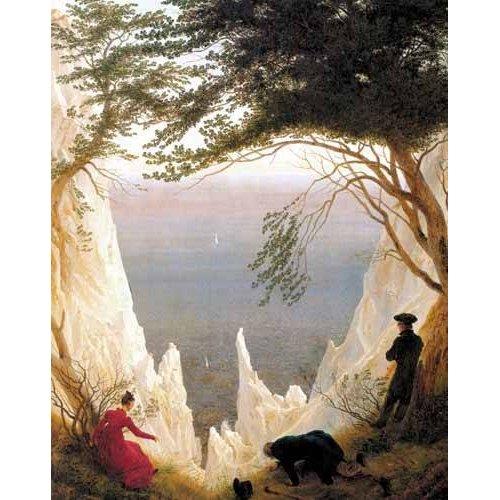 cuadros de paisajes - Cuadro -Kreidefelsen auf Rügen-