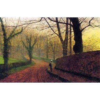 - Cuadro -Stapleton Park near Pontefract- - Grimshaw, John Atkinson