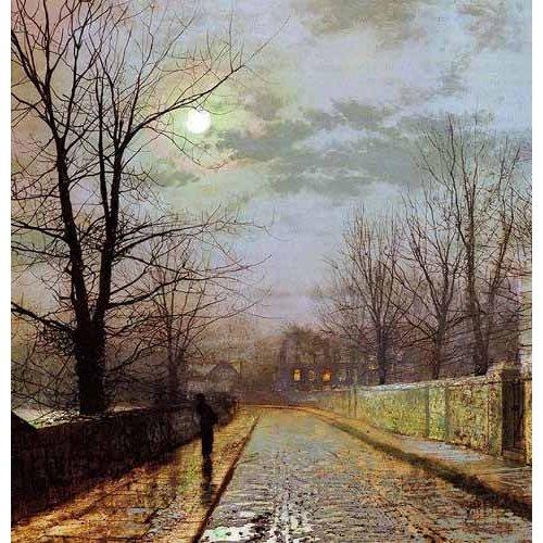 cuadros de paisajes - Cuadro -Calle de Cheshire-