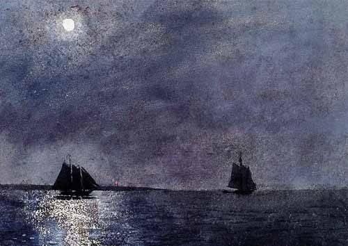 cuadros-de-marinas - Cuadro -Eastern Point Light- - Homer, Winslow