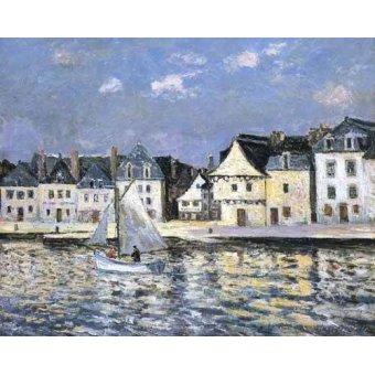 cuadros de marinas - Cuadro -El puerto de Saint Goustan, Brittany- - Maufra, Maxime