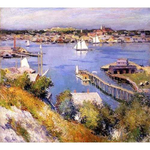 Cuadro -Puerto de Gloucester-
