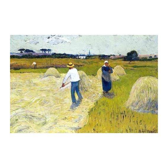 cuadros de paisajes - Cuadro -Haymaking-