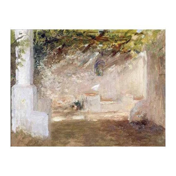 cuadros de paisajes - Cuadro -Emparrado-