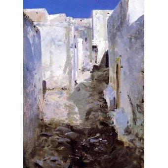 - Cuadro -Calle de Algiers- - Sargent, John Singer