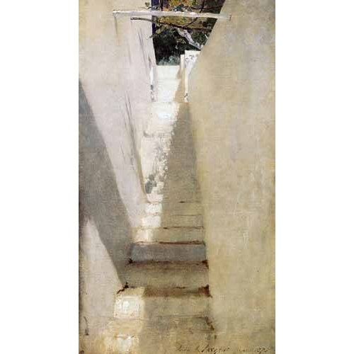 Cuadro -Escalinata en Capri-