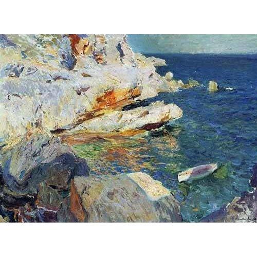 cuadros de marinas - Cuadro -Rocas de Javea-
