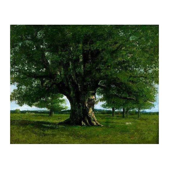 cuadros de paisajes - Cuadro -El roble de Flagey, llamado Vercingetorix-