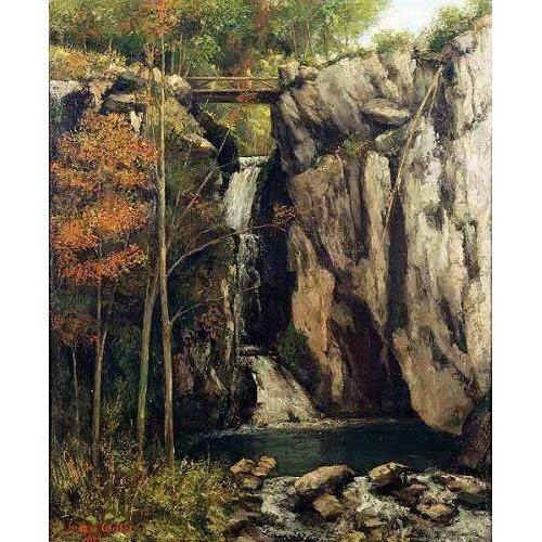 Cuadro -El abismo de Conches (1864)-