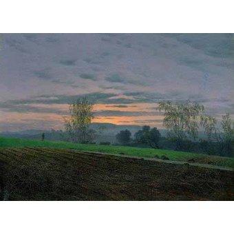 - Cuadro -Campos arados- - Friedrich, Caspar David