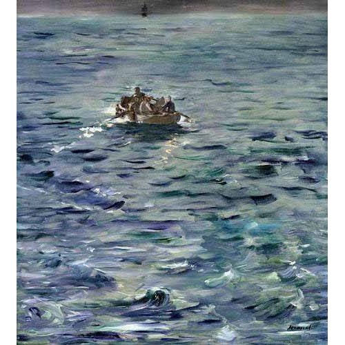 cuadros de marinas - Cuadro -Evasión de Henri de Rochefort-