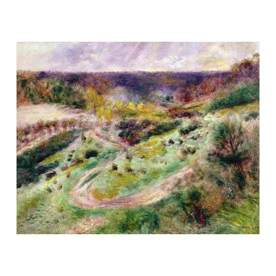 cuadros de paisajes - Cuadro -Paisaje en Wargemont-