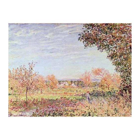 cuadros de paisajes - Cuadro -Mañana de Septiembre-