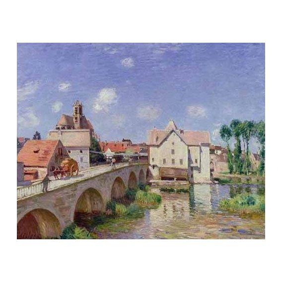 cuadros de paisajes - Cuadro -El puente de Moret-