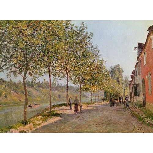 cuadros de paisajes - Cuadro -Mañana de Junio en Saint-Mammes-