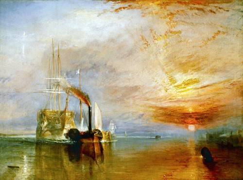 cuadros-de-marinas - Cuadro -The Fighting Temeraire- - Turner, Joseph M. William