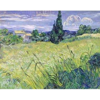 - Cuadro -Paisaje con maíz verde- - Van Gogh, Vincent