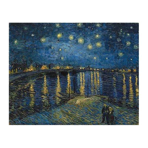 cuadros de paisajes - Cuadro -The starry night-