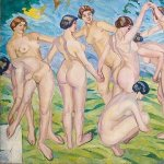 cuadros de desnudos