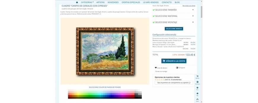 El arte de enmarcar laminas - Blog Artisan Gallery